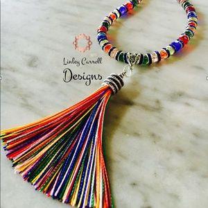 Jewelry - Rainbow Tassel Necklace